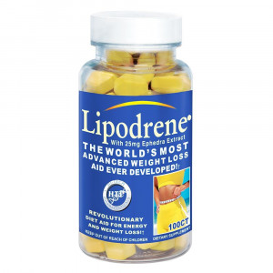 Hi-Tech Pharmaceuticals Lipodrene With 25 mg Ephedra (100 таб.)