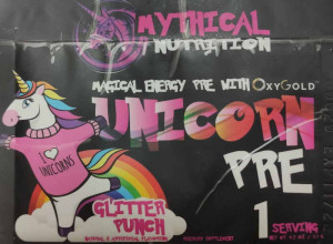 Mythical Nutrition Unicorn PRE Workout by Insane Labz (1 порция)