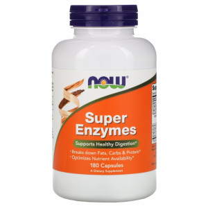 Now Foods Super Enzymes (180 капс.)