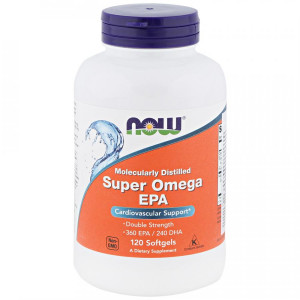 Now Foods Super Omega EPA Molecularly Distilled Softgels (120 капс.)