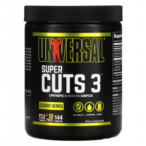 Universal Nutrition Super Cuts 3 (130 таб.)