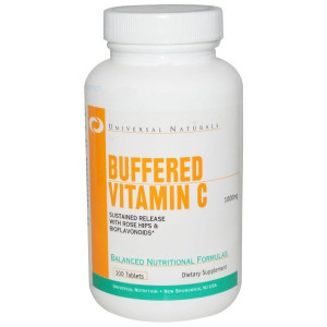 Universal Nutrition Vitamin C Buffered (100 таб)