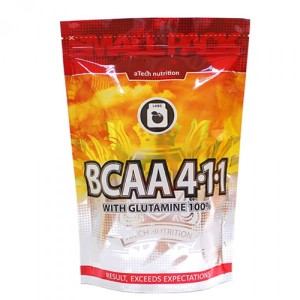 Atech Nutrition BCAA 4:1:1 with Glutamine 100% (300 гр.)