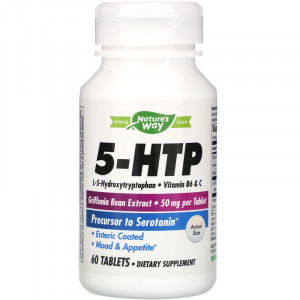 Nature's Way 5-HTP 50 mg Each (60 таб.)