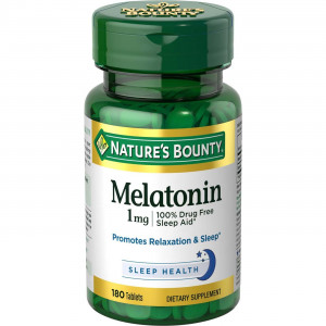 Nature's Bounty Melatonin 1 mg (180 таб.)