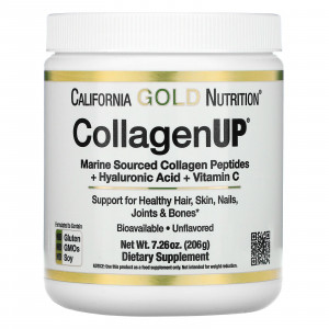 California Gold Nutrition Collagen UP 5000 (206 гр.)