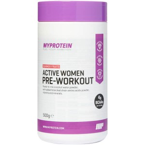 Myprotein Active Women Pre-Workout (500 гр.)