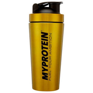 Myprotein Шейкер Gold Stainless Steel (750 мл)