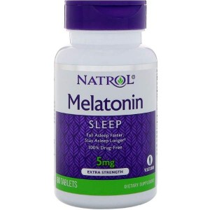 Natrol Melatonin Extra Strength 5 мг (60 таб.)