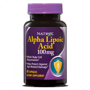 Natrol Alpha Lipoic Acid 100 mg (60 капс.)