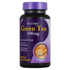 Natrol Green Tea 500 мг (60 капс.)