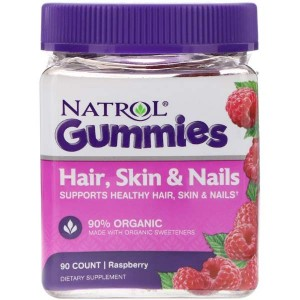 Natrol Gummies Hair, Skin & Nails (90 мармеладок)