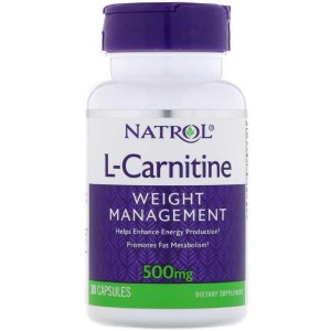 Natrol L-Carnitine 500 mg (30 капс.)