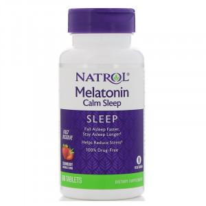 Natrol Melatonin Advanced Calm Sleep 6 мг (60 таб.)