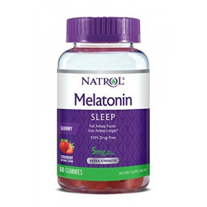 Natrol Melatonin Gummies 5 мг (60 мармеладок)
