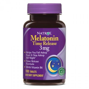 Natrol Melatonin Time Release 3 мг (100 таб.)