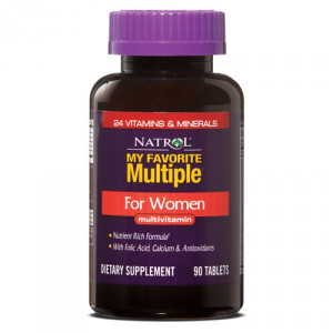 Natrol My Favorite Multiple For Women (60 таб.)