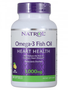 Natrol Omega-3 Fish Oil 1000 мг Softgels (60 капс.)