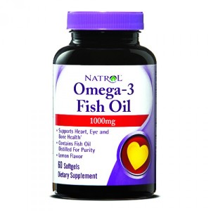 Natrol Omega-3 Fish Oil 1000 мг Softgels (90 капс.)