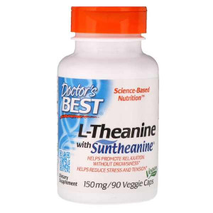 Doctor's Best Suntheanine L-Theanine 150 мг (90 капс.)