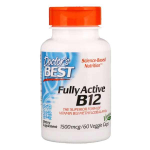 Doctor's Best Best Fully Active B12 1500 mcg (60 капс.)
