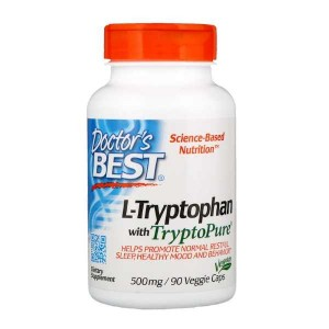 Doctor's Best Best L-Tryptophan with TryptoPure 500 mg (90 капс.)