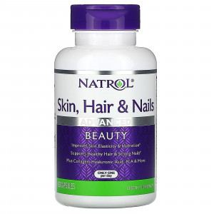 Natrol Skin Hair Nails Advanced Beauty (60 капс.)