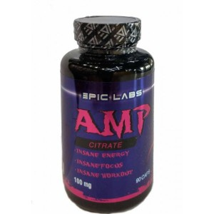Epic Labs AMP Citrate 100 мг (90 капс.)