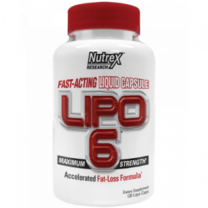 Nutrex Research Lipo 6 (120 капс.)