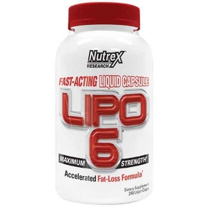 Nutrex Research Lipo 6 (240 капс.)