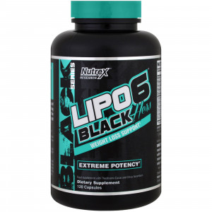 Nutrex Research Lipo-6 Black Hers (120 капс.)