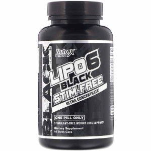 Nutrex Research Lipo-6 Black Stim-Free Ultra Concentrate (60 капс.)