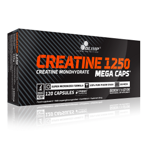 Olimp Sport Nutrition Creatine Mega Caps 1250 (120 капс.)