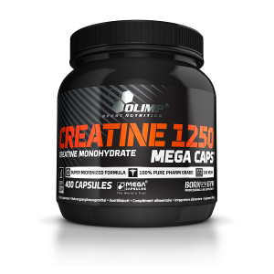 Olimp Sport Nutrition Creatine Mega Caps 1250 (400 капс.)