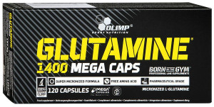 Olimp Sport Nutrition Glutamine 1400 Mega Caps (120 капс.)