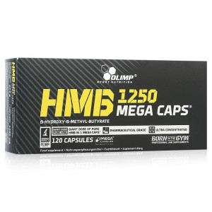 Olimp Sport Nutrition HMB 1250 Mega Caps (120 капс.)