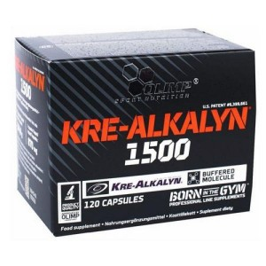 Olimp Sport Nutrition Kre-Alkalyn 1500 Mega Caps (120 капс.)