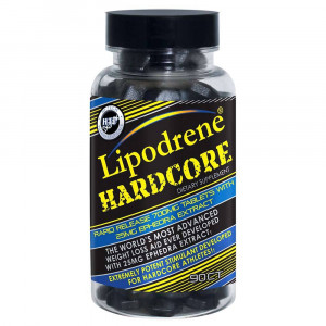Hi-Tech Pharmaceuticals Lipodrene Hardcore with 25 мг Ephedra (90 таб.)