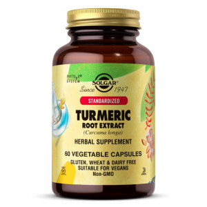 Solgar Turmeric Root Extract (60 капс.)