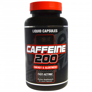 Nutrex Research Caffeine 200 мг (60 капс.)
