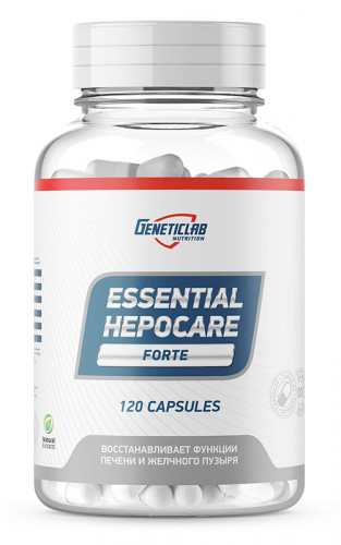 GeneticLab Nutrition Essential Hepocare (120 капс.)