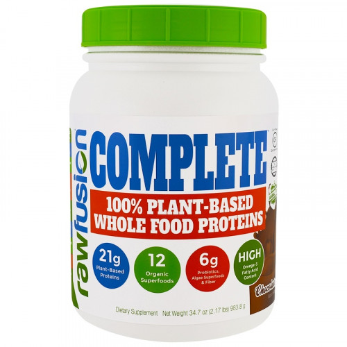 SAN RawFusion Complete 100% Plant-Based Whole Food Proteins (983.8 гр.)