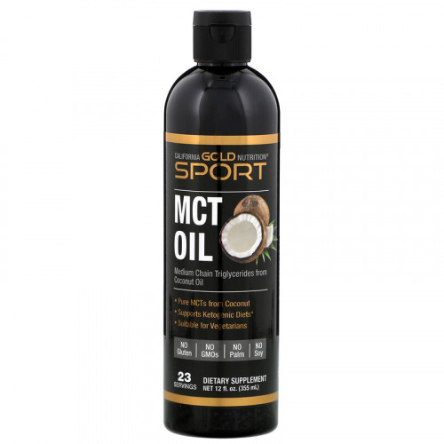 California Gold Nutrition MCT Oil (355 мл)