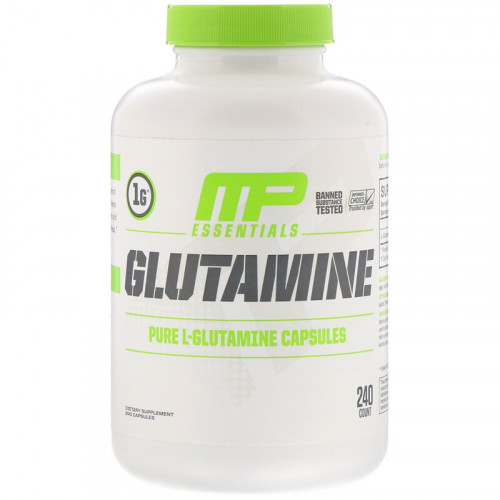 MusclePharm Essentials Glutamine (240 капс.)