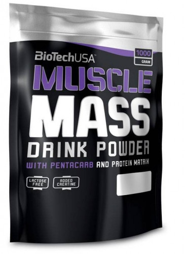 BioTech USA Muscle Mass (1000 гр.)