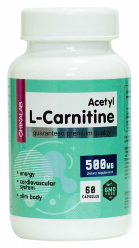 Chikalab Acetyl L-Carnitine 500 мг (60 капс.)
