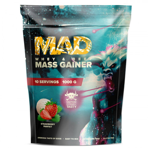 GeneticLab Nutrition MAD Whey & Beef Mass Gainer (1000 гр.)