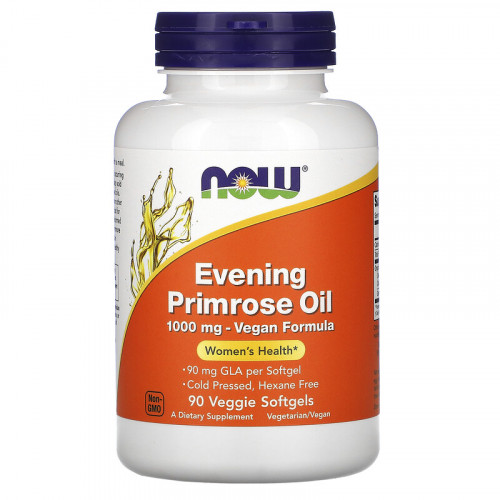 Now Foods Evening Primrose Oil 1000 мг Softgels (90 капс.)