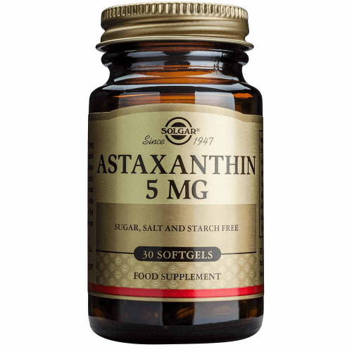 Solgar Natural Astaxanthin 5 мг Softgels (30 капс.)