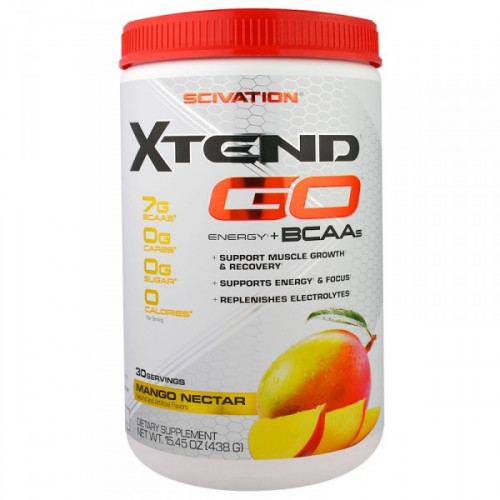 Scivation Xtend GO Energy + BCAAs (438 гр.)